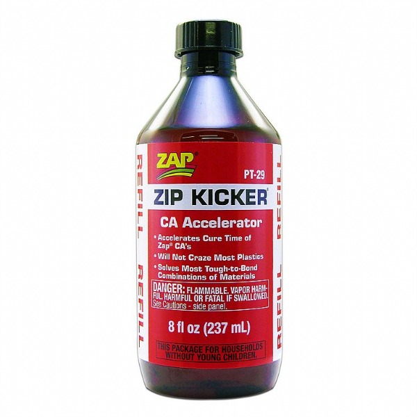 ZAP ZIP KICKER REFILL POT (CA Accelerator) 8 fl oz ( 237 ml ) PT-29